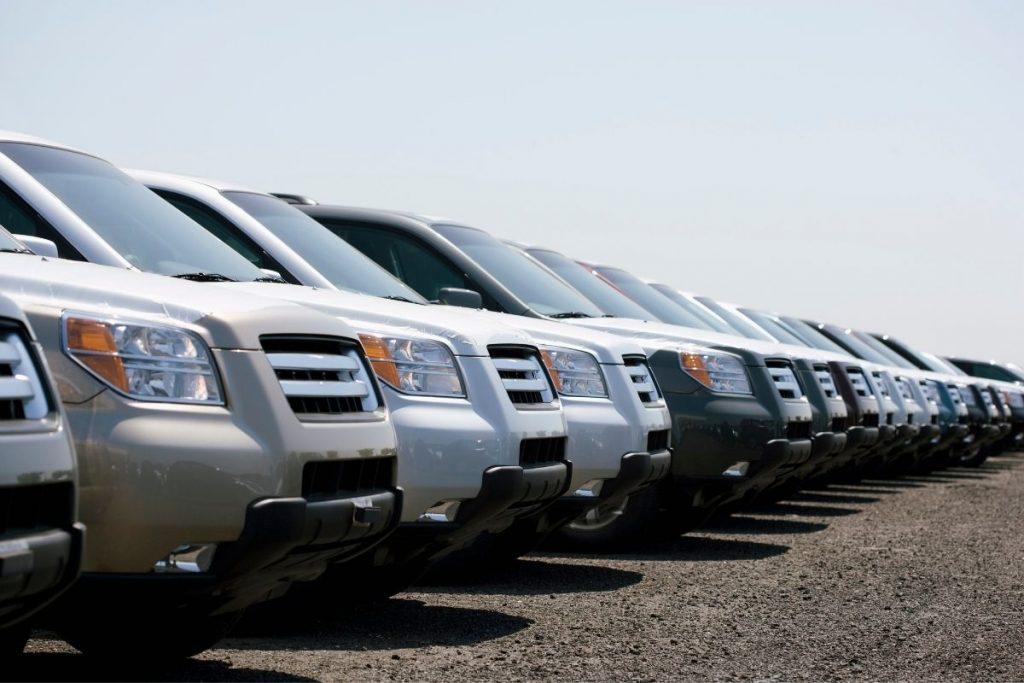 Sprzedaż floty aut do skupu